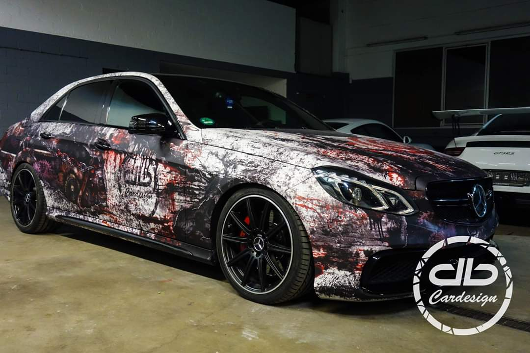 Project image for E63 AMG SAW Design